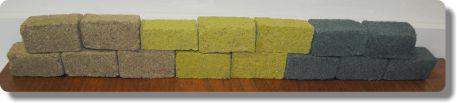 AggreBind colors brick samples
