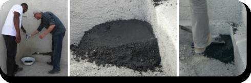 AggreBind soil stabilization color black