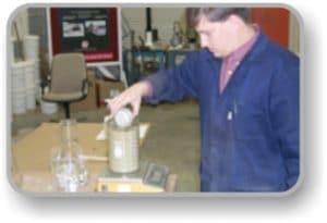 AggreBind soil stabilizer testing