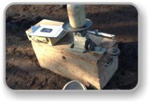 Stabilizing soil OMC test